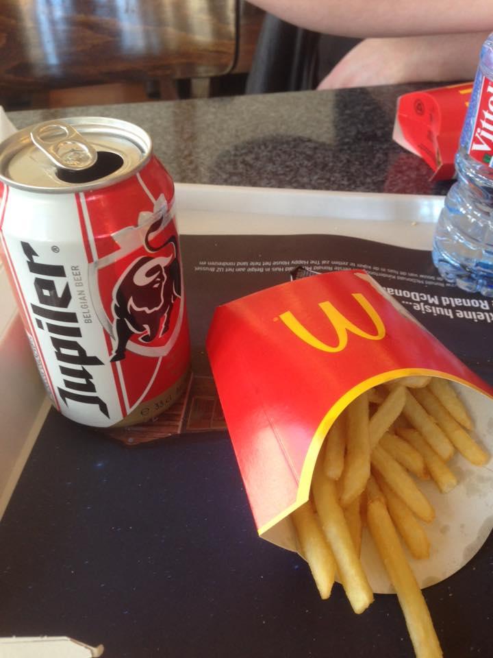 Au revoir Belgique - McDonalds