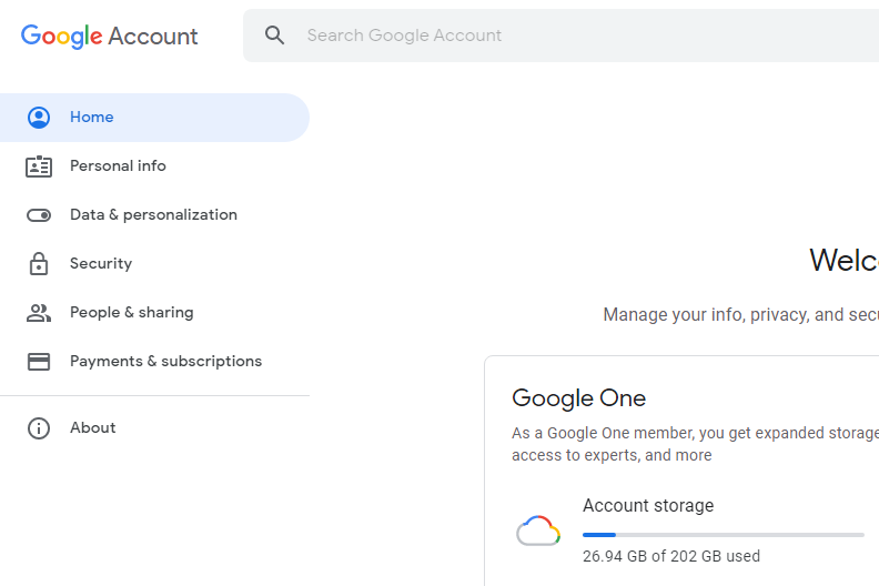 Two Factor Authentication - Google Account
