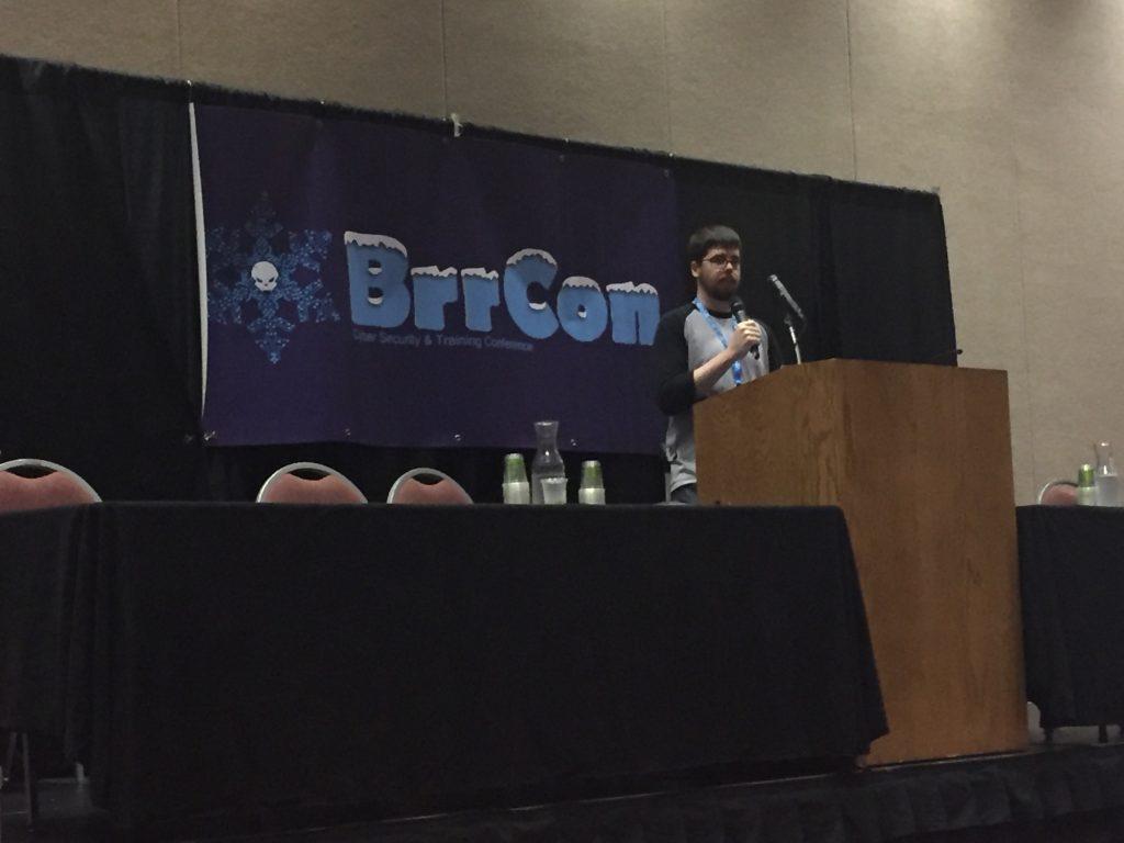 BrrCon 2018 - Presenting
