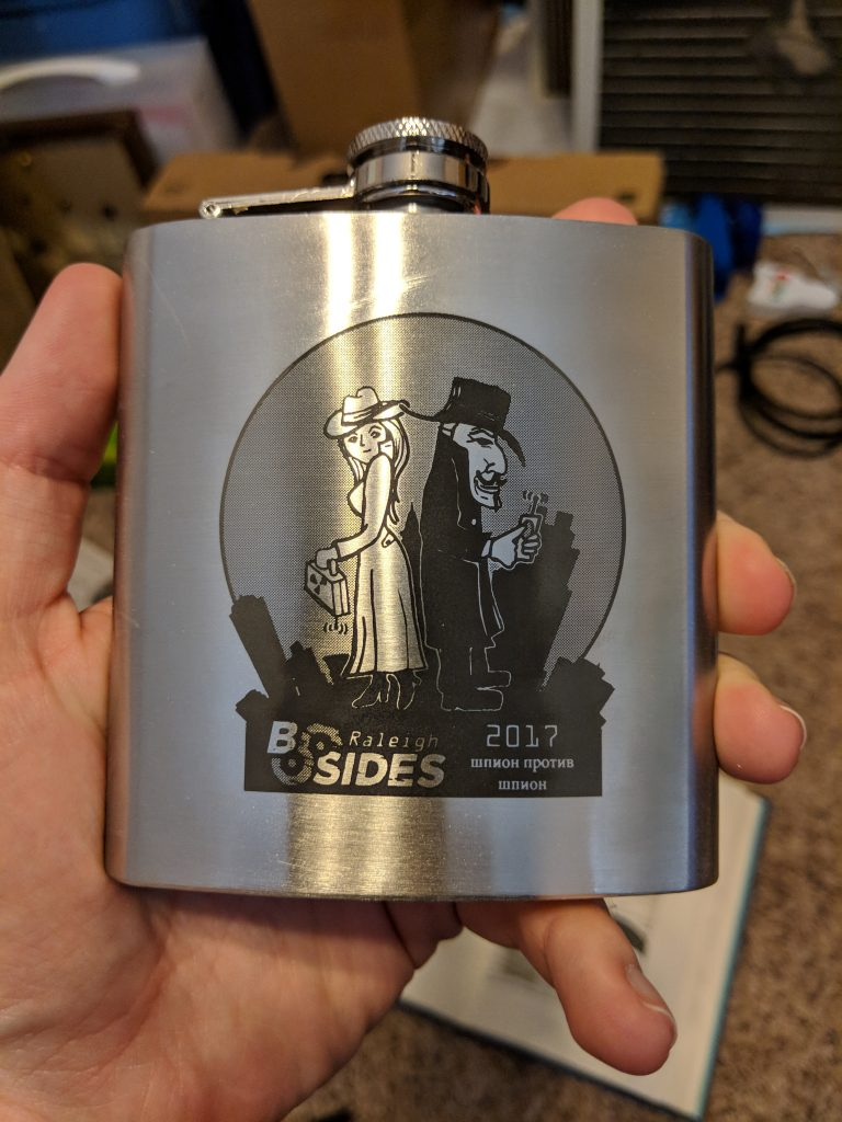 BSides Raleigh 2017 - Flask Front