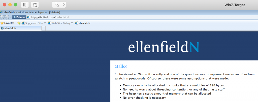 Capturing Credentials Over HTTP -  HTTP website