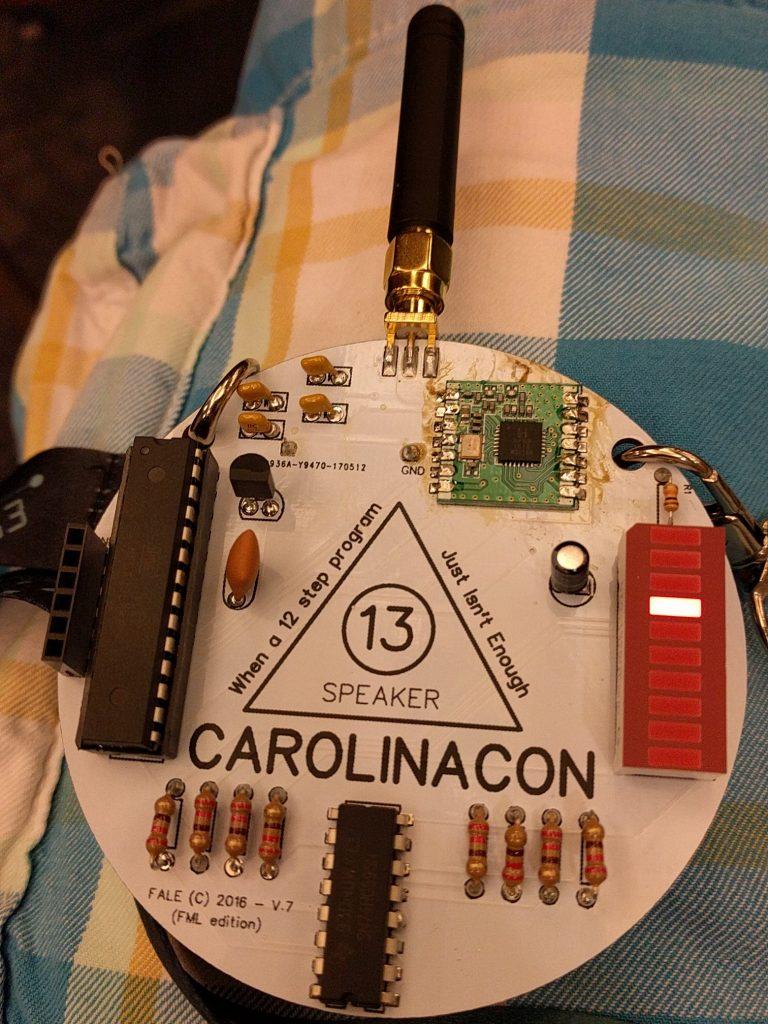 CarolinaCon 13 - Badge