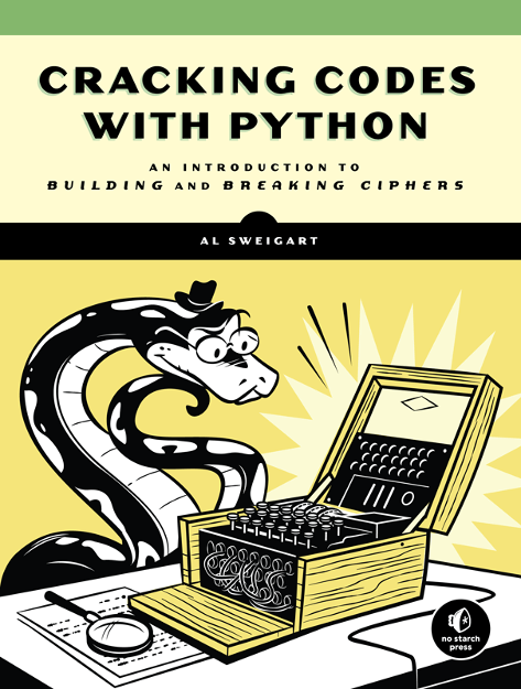 Cracking Codes with Python - Cover