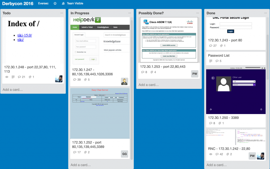 CTF Resources - Trello