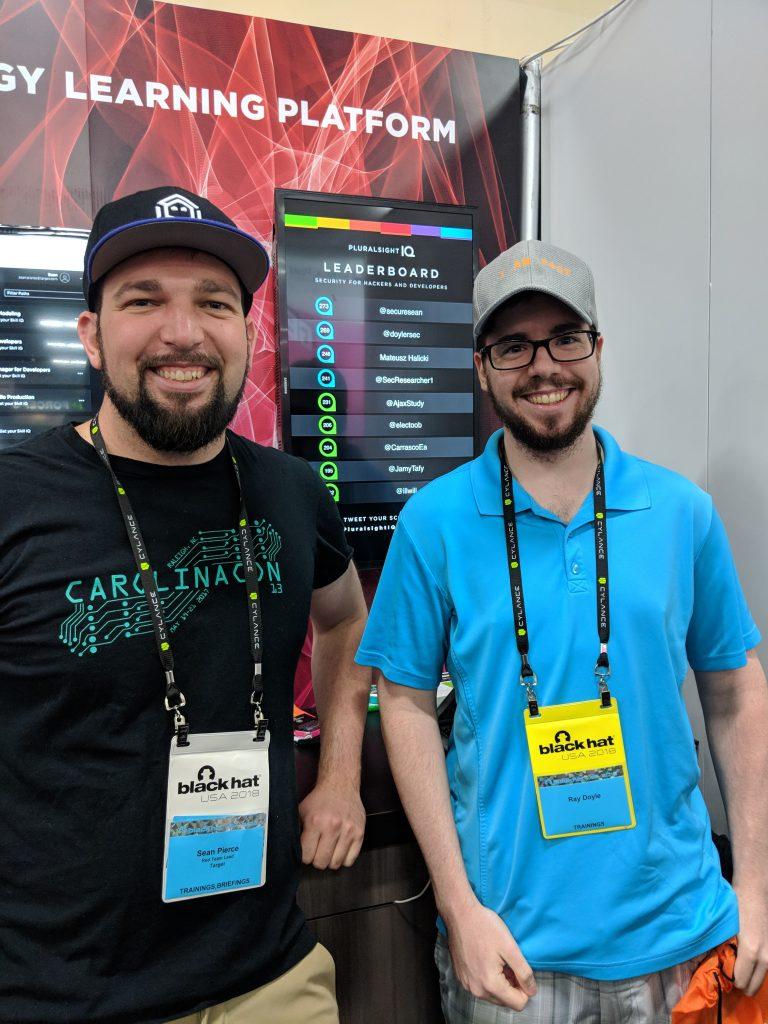 Black Hat / DEF CON - Sean and Me