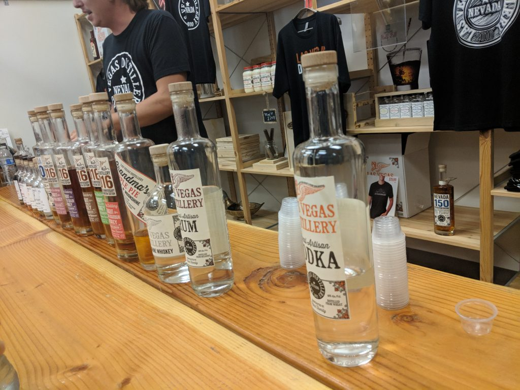 Black Hat / DEF CON - Distillery offerings