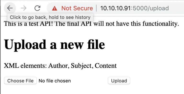 Hack the Box DevOops - Upload