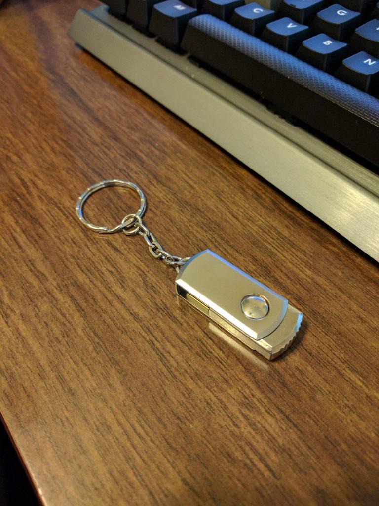 DIY USB Rubber Ducky - Keychain