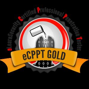 eCPPT Exam - Gold Logo