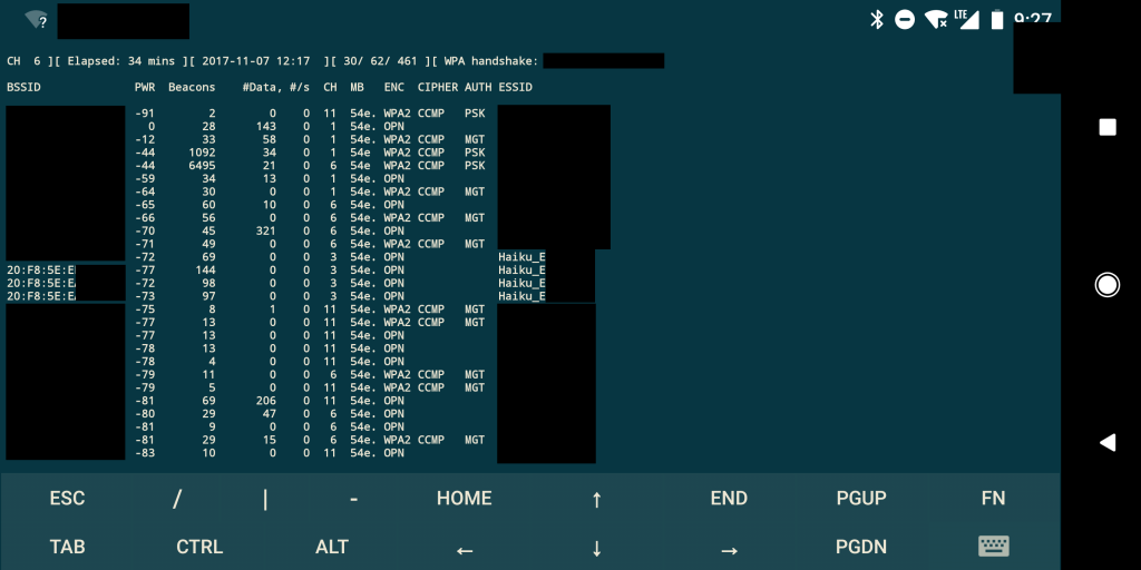 Fan Hacking - SSIDs