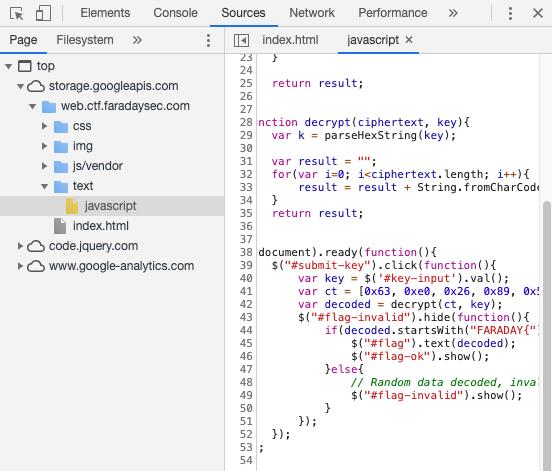 FaradaySec CTF - Modified JavaScript