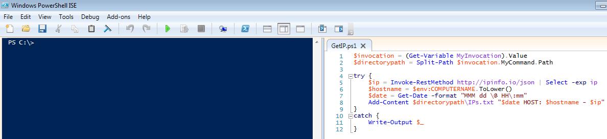 GetIP - Code