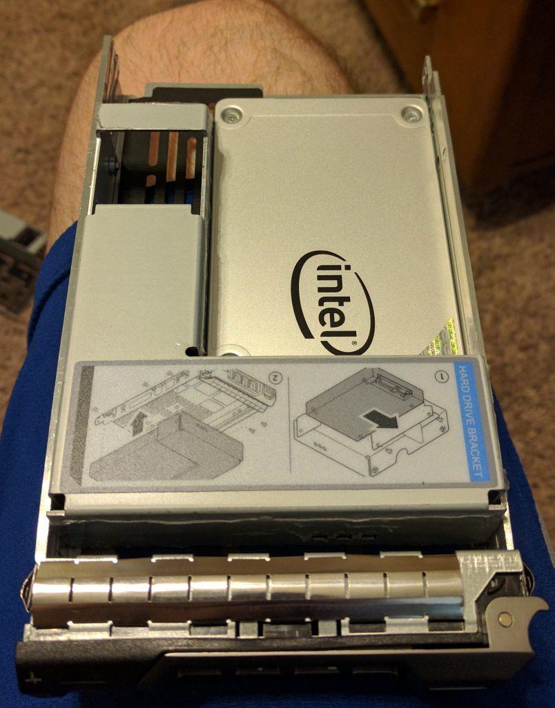 r710 Upgrades - SSD Caddy