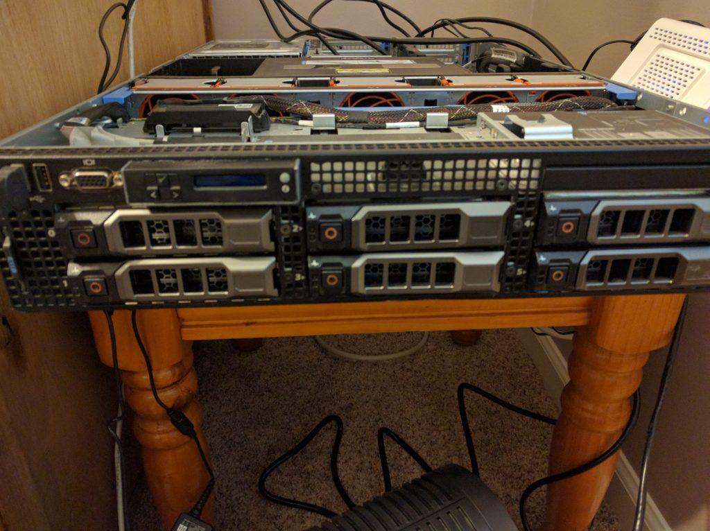 r710 Upgrades - Bays full