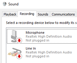 Monitor Won't Sleep - Disabled microphone