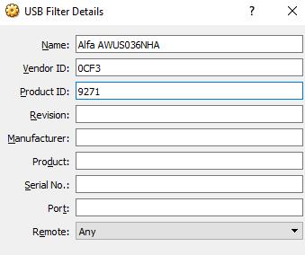 Alfa AWUS036NHA - New filter