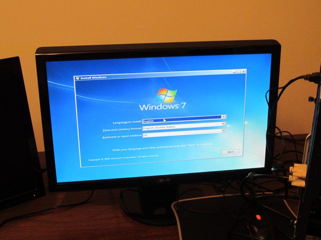 Desktop Assembly - Windows 7