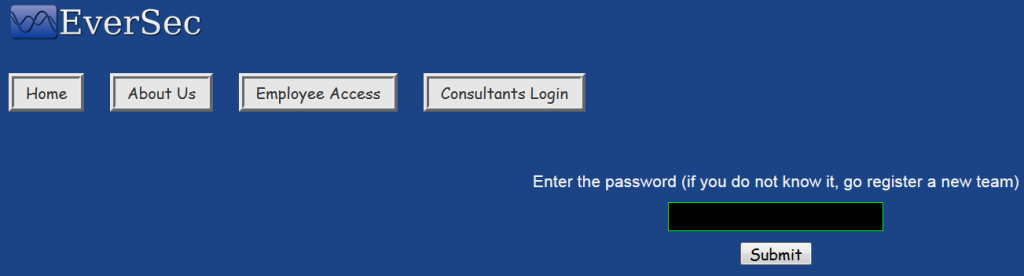 Nodejs Code Injection - Consultants Login