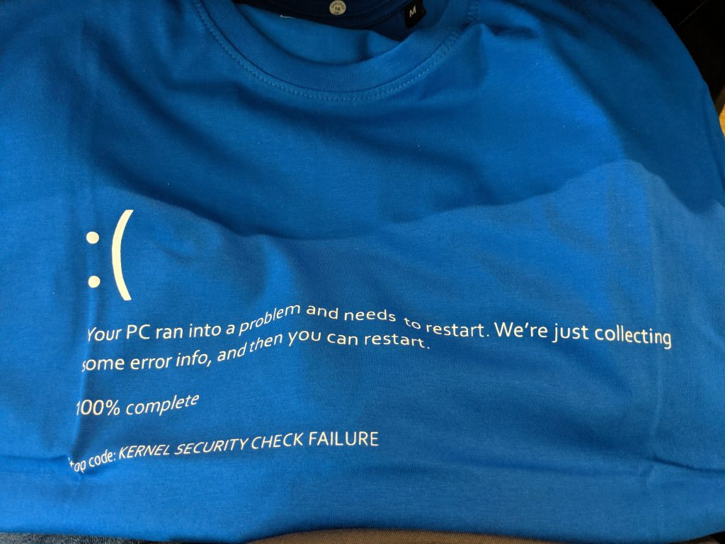 NorthSec - BSoD Shirt
