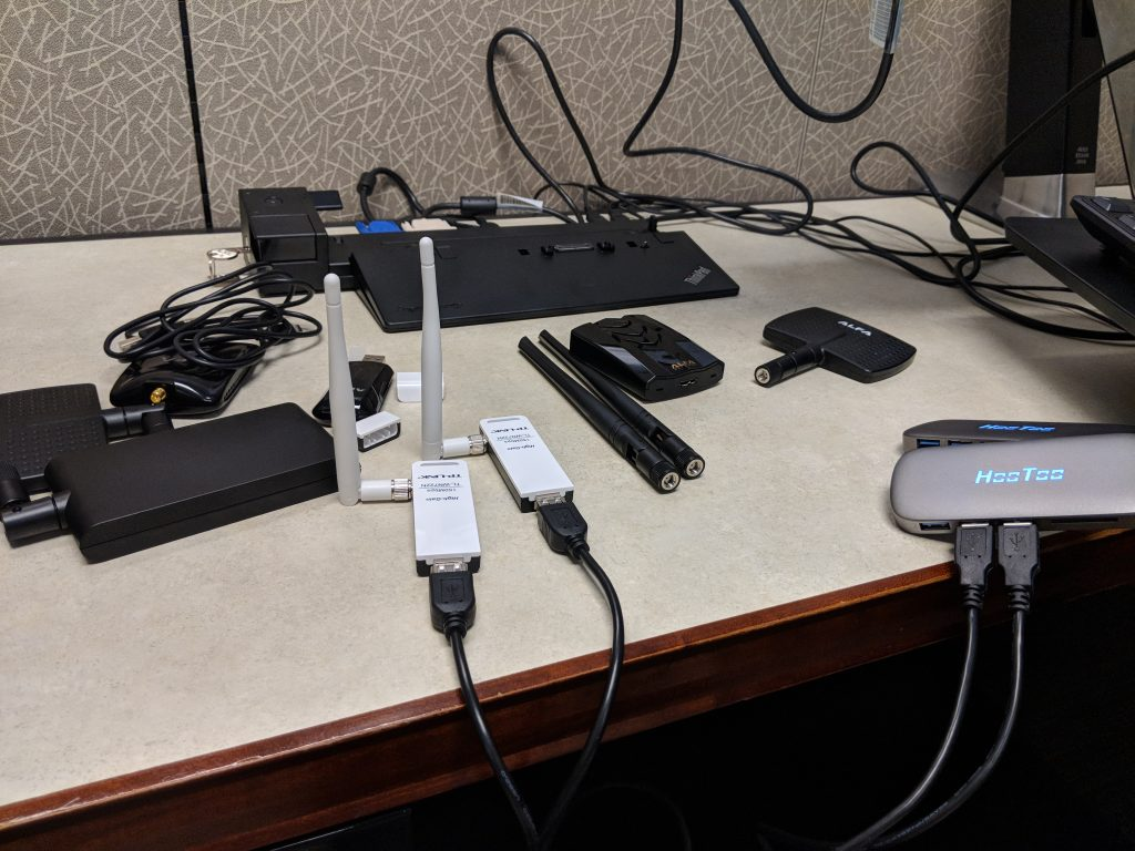 More wireless gear