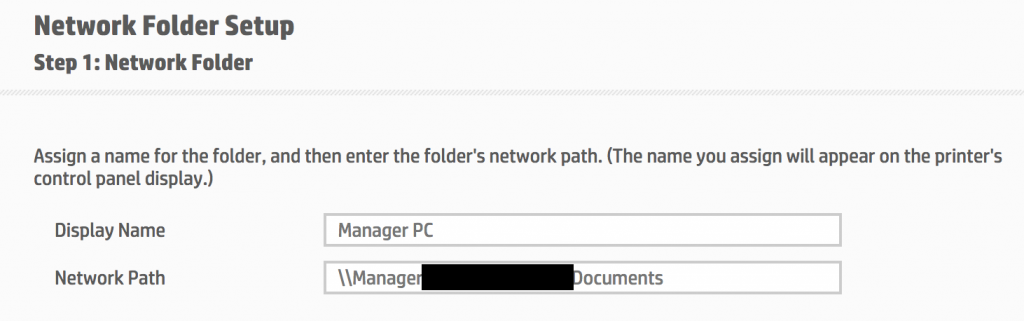 Stealing Hashes from Printers - Network Folder