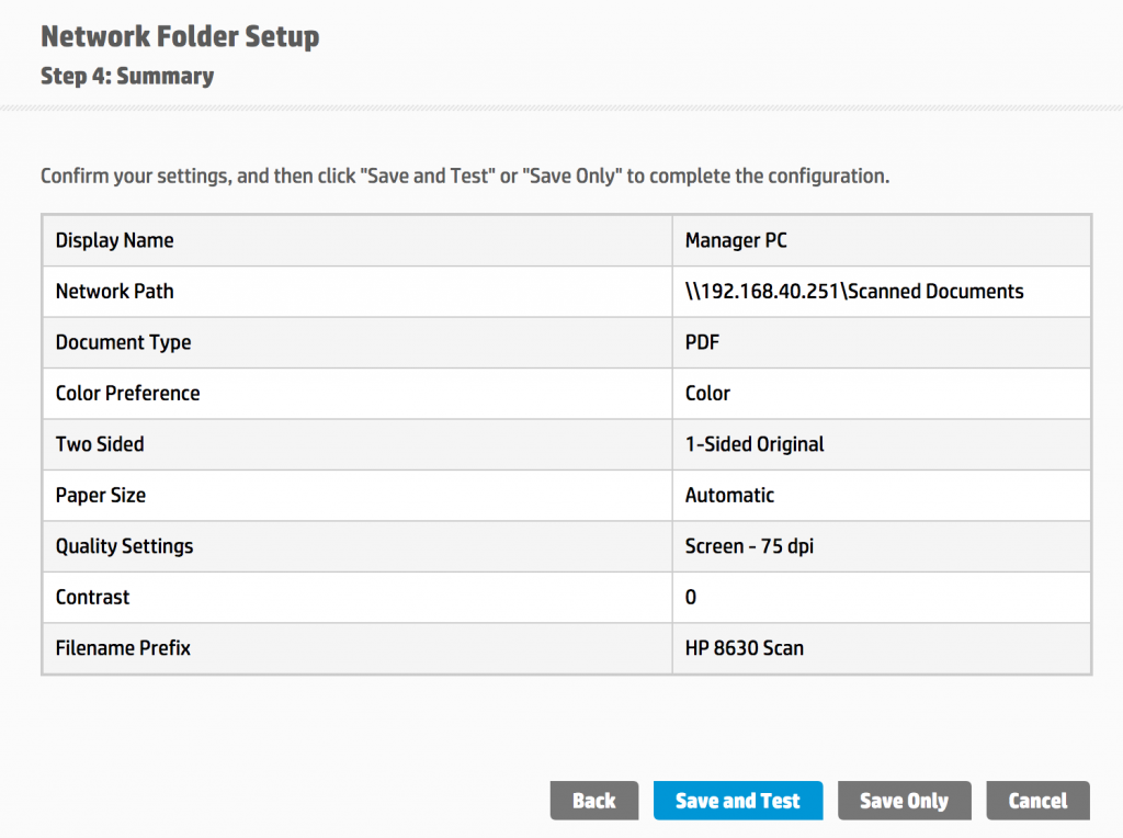 Stealing Hashes from Printers - New Settings