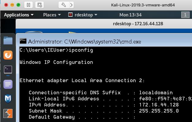 RDP Tunnel - Rdesktop