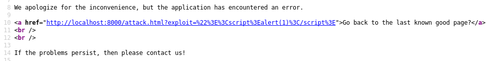 Referer XSS - URL Encode