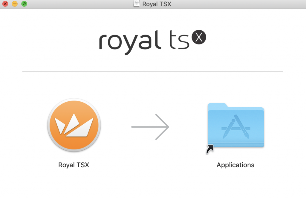Royal TSX - Installation