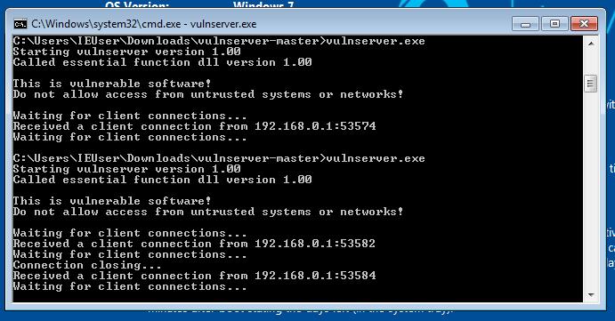 Vulnserver TRUN - Server