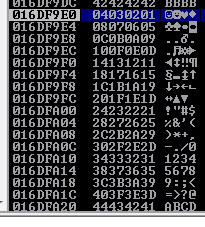 Three Byte Overwrite - Bad Characters