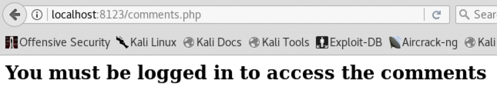 XSS Attack Chain - Comments Authorization