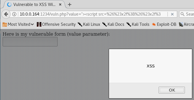 XSS Without Slashes - Full Exploit