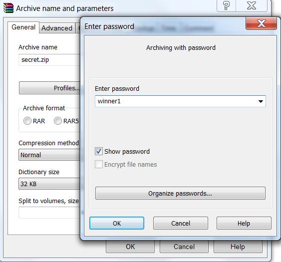 Python Zip Password Cracker - Archiving